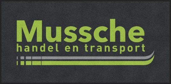 Schoonloopmat met logo